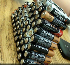 How many batteries does it take to fully charge our lives?