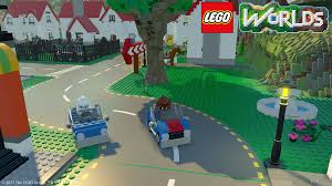 An image of gameplay of Lego Worlds courtesy of flickr.com.