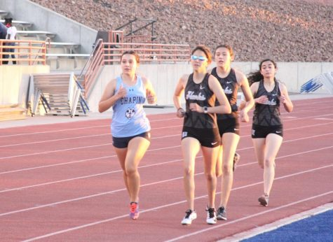 The track and field team competed in their fourth meet of the season at Canutillo High School on Friday, March 5.