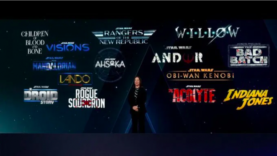 The reveal for new Disney Lucasfilm projects were made at the Disney