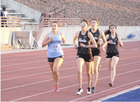 Cross country at the mid-point in their season